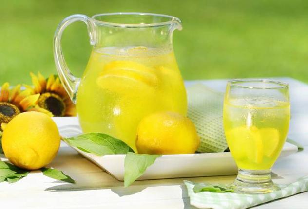 Лимонад из меда и лимона