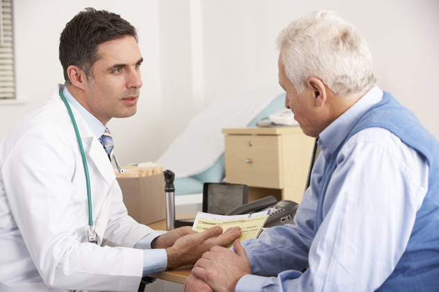Пациент на приеме у доктора