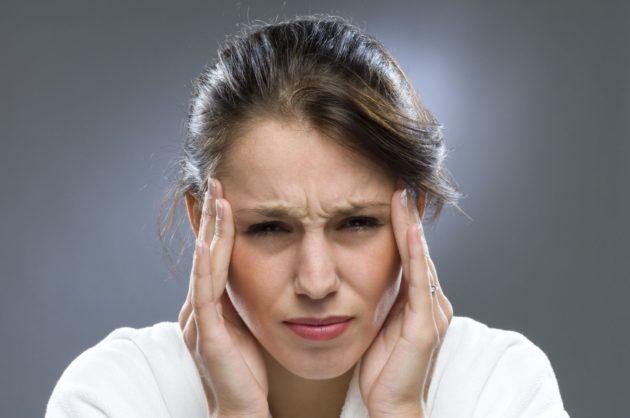 Спутник хронического синусита - головная боль