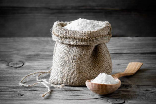 Горячая соль используется для прогревания придаточных пазух