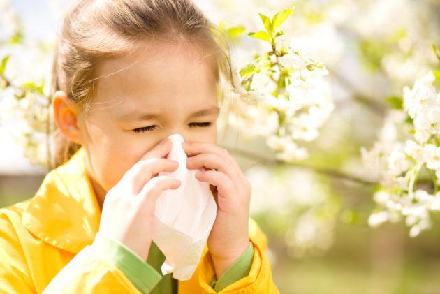 Чаще всего поллиноз проявляется в детстве