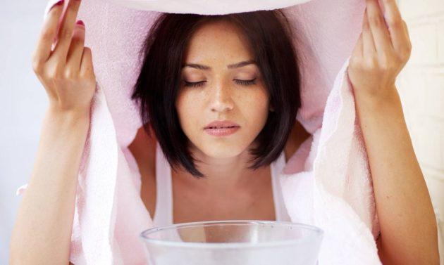 Ингаляции, проводимые в домашних условиях, помогут в лечении синусита