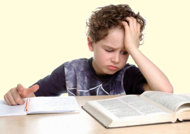 Ребенок не хочет заниматься