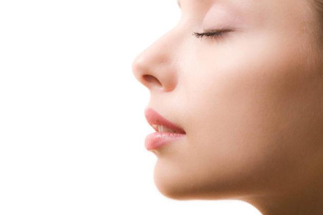 После восстановления перегородки носа