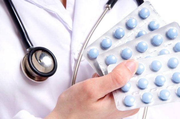 Лекарства при осложнениях ангины