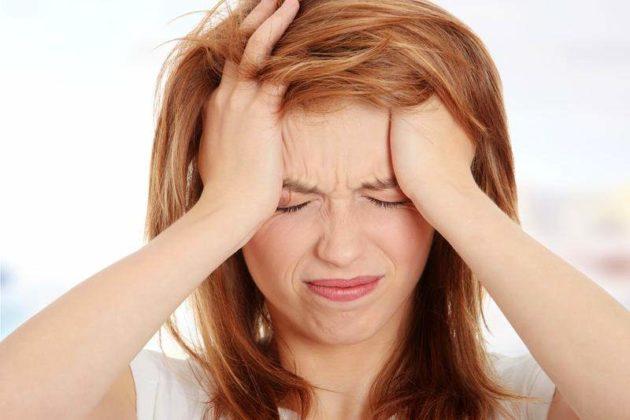 Головная боль - симптом острого синусита