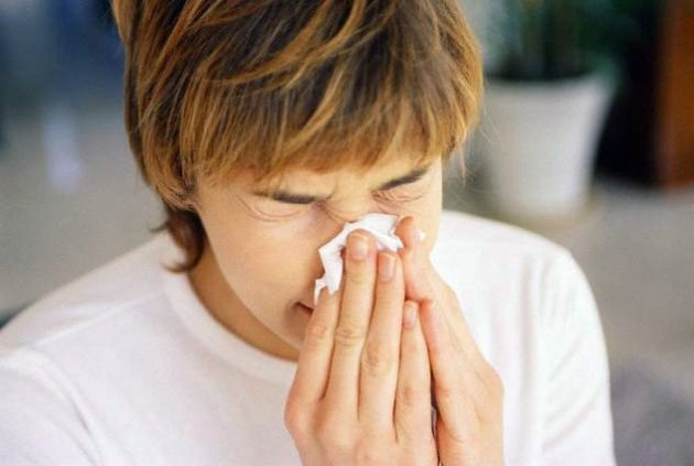 Спрей Насобек назначается при аллергическом рините