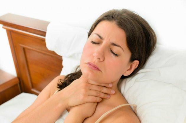 Боль при глотании первый признак ангины