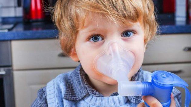 Раствор Атровент для ингаляций применяется у детей с 5 лет