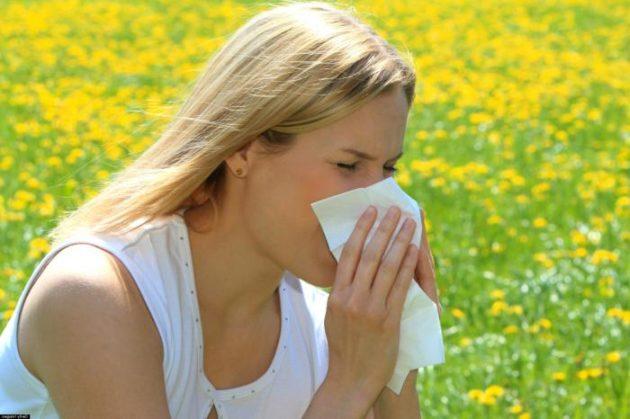 Спреи от аллергического насморка содержат антигистаминные и гормональные компоненты