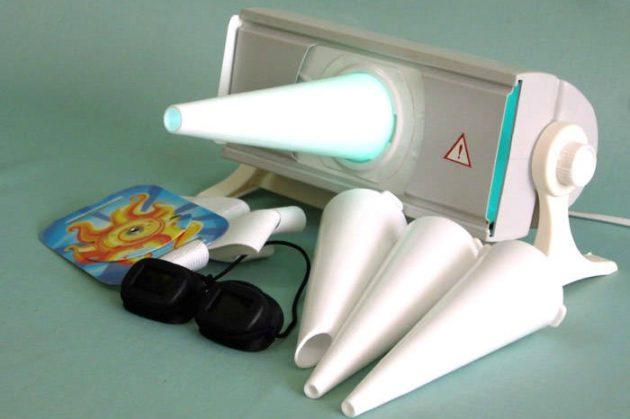 Аппарат Солнышко может использоваться в комплексном лечении горла