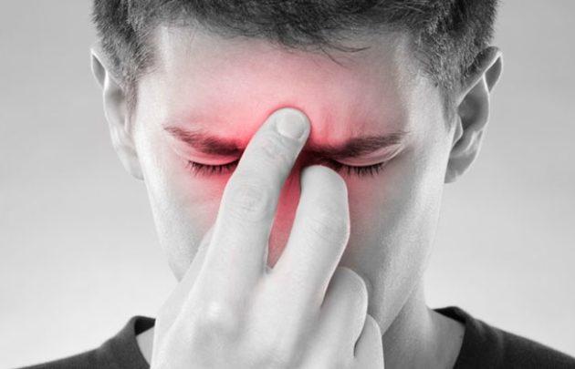 Болит голова и заложен нос