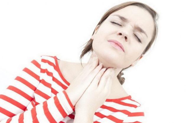 Компресс при ангине является дополнением к основному лечению