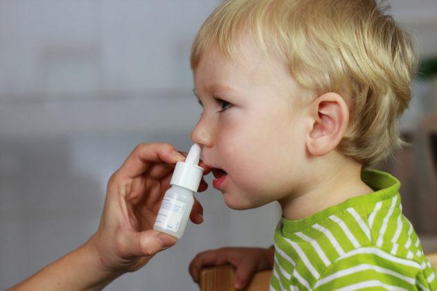 Ксилен детский показан при заложенности носа
