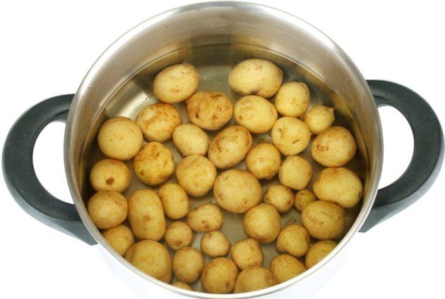 Картошку для ингаляций нужно отварить