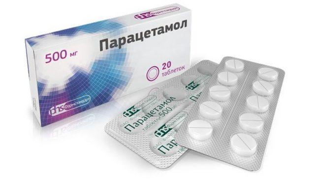 Парацетамол разрешен для лечения ангины при грудном вскармливании