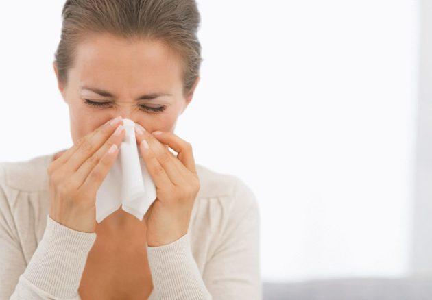 При зависимости от капель в нос насморк не проходит без сосудосуживающих средств
