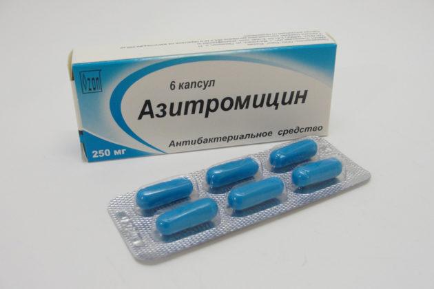 Антибиотик при гайморите