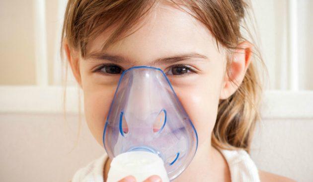 При кашле с насморком эффективны ингаляции