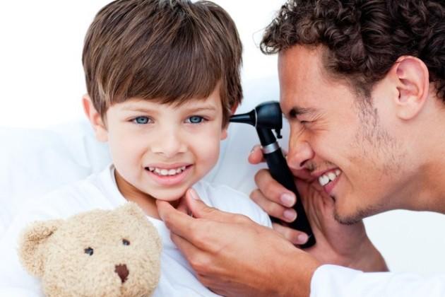 аллергический отит у детей