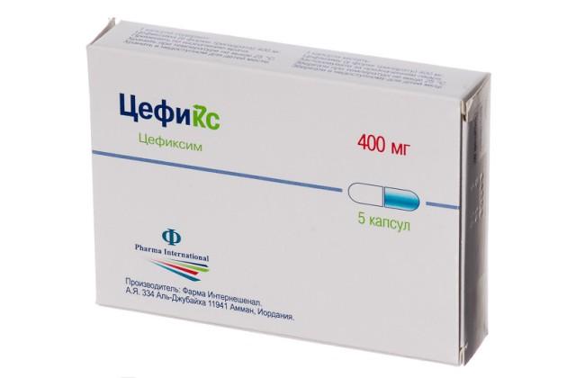 антибиотик при ларингите цефиксим