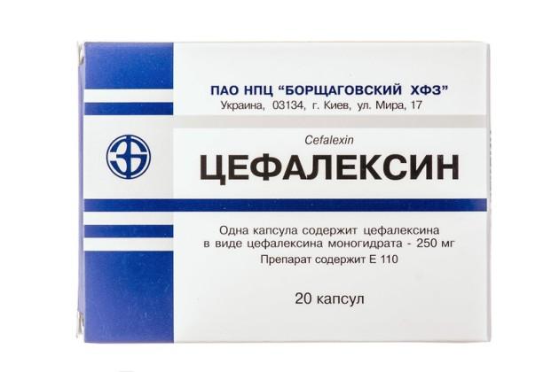 антибиотик при ларингите цефалексин