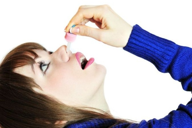 закапывание гидрокортизона в нос