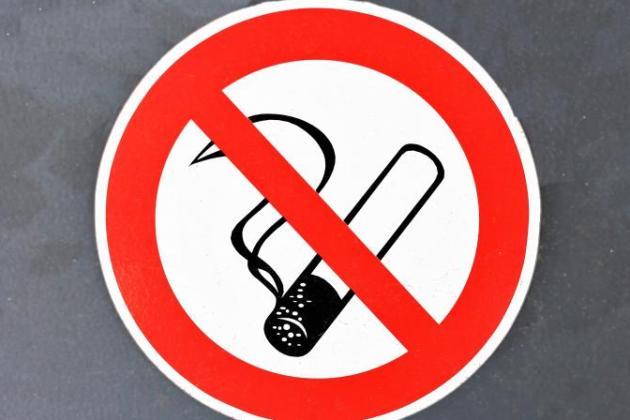 курить при ангине запрещено