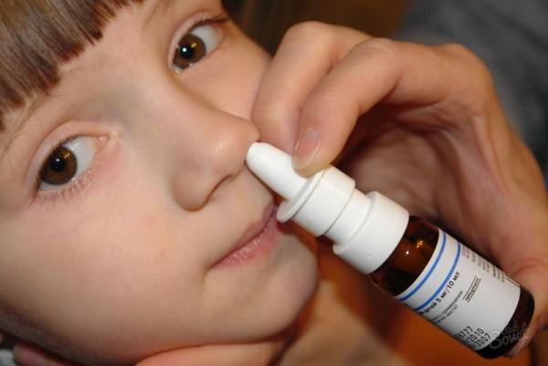 спрей для носа для детей