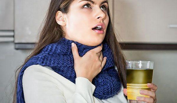 ромашка от горла очень эффективна