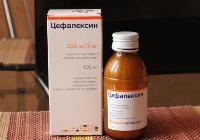 Цефалексин - антибиотик при бронхите для детей