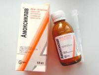 Амоксиклав - антибиотик при бронхите для детей
