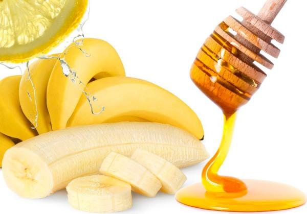 Банан с медом от кашля