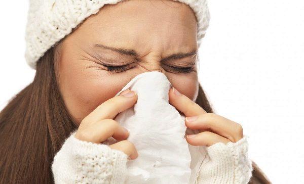 насморк и боль в горле