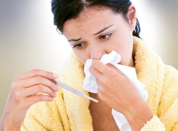 насморк и температура