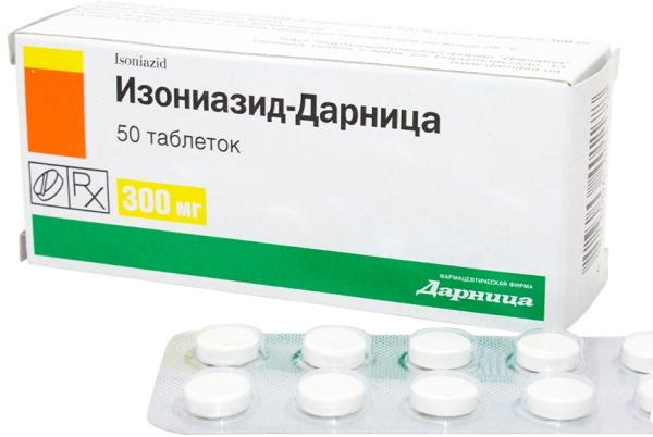 изониазид - препарат для лечения открытой формы туберкулеза